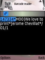 Screenshot MOO Datamatrix